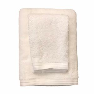 Home Expressions Solid Bath & Hand Towel Set White